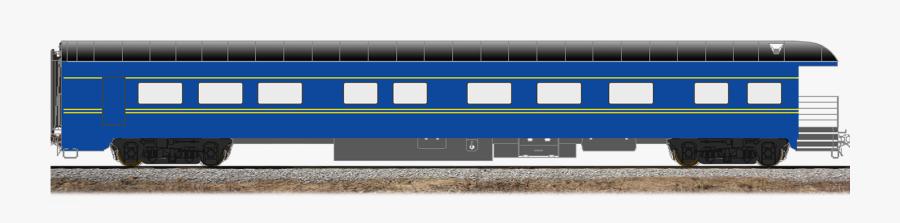 Passenger Train Cars Transparent, Transparent Clipart