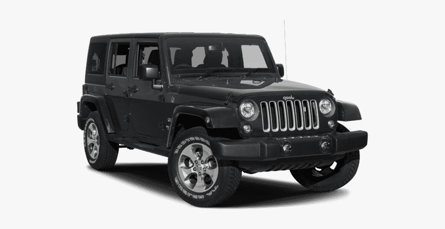 Clip Art Jeep Smoky Mountain - 2018 Jeep Wrangler Jk Unlimited Sahara, Transparent Clipart