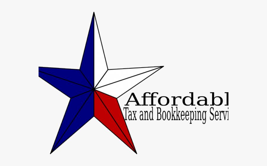 Texas Star Cliparts - Graphic Design, Transparent Clipart