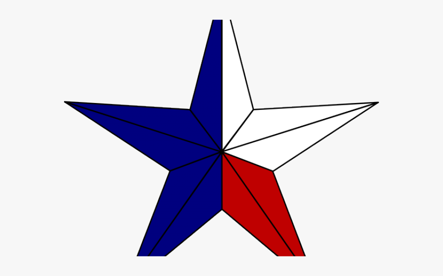 Texas Star Cliparts - Transparent Background Texas Star, Transparent Clipart