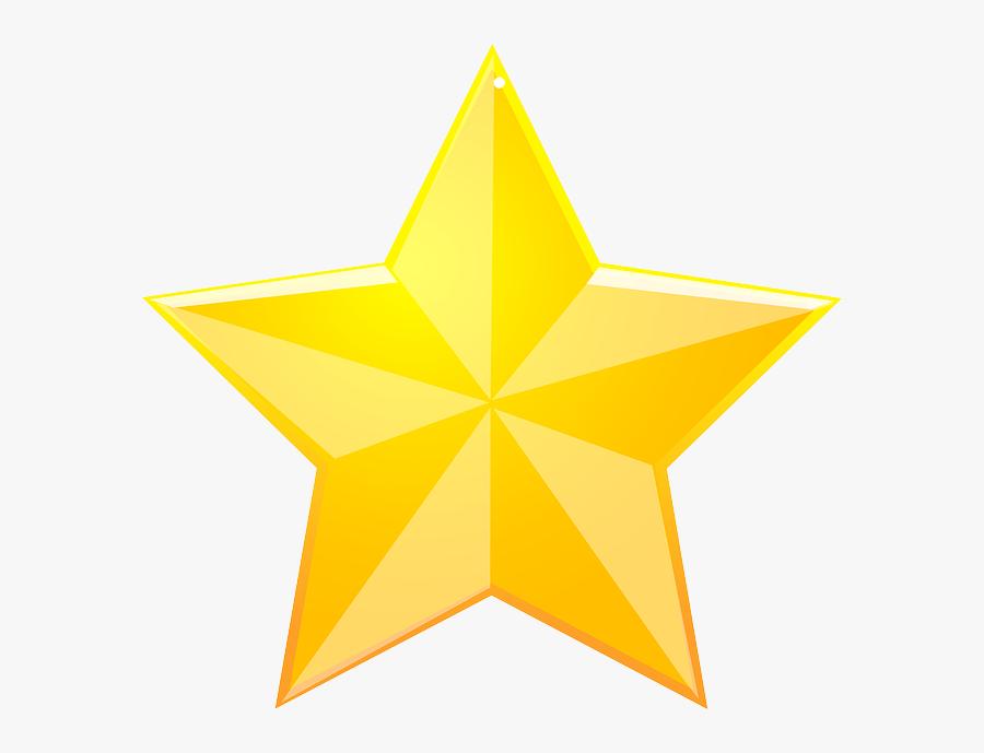Transparent Texas Ranger Star Clipart - Transparent Background Star Png, Transparent Clipart