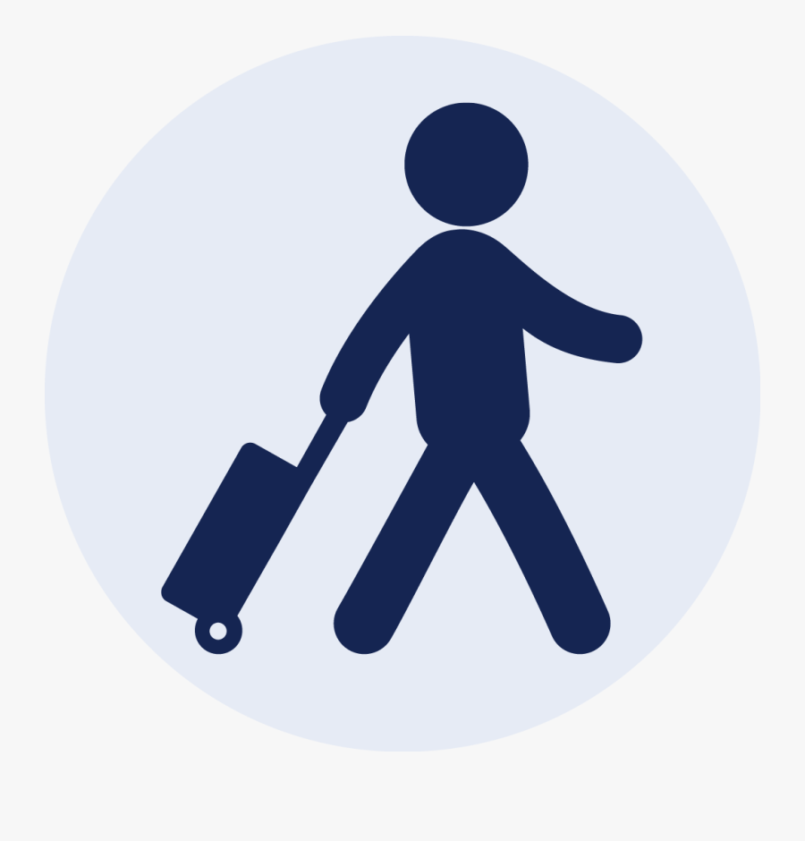 Transparent To Arrive Clipart - Travelling Icon Png, Transparent Clipart
