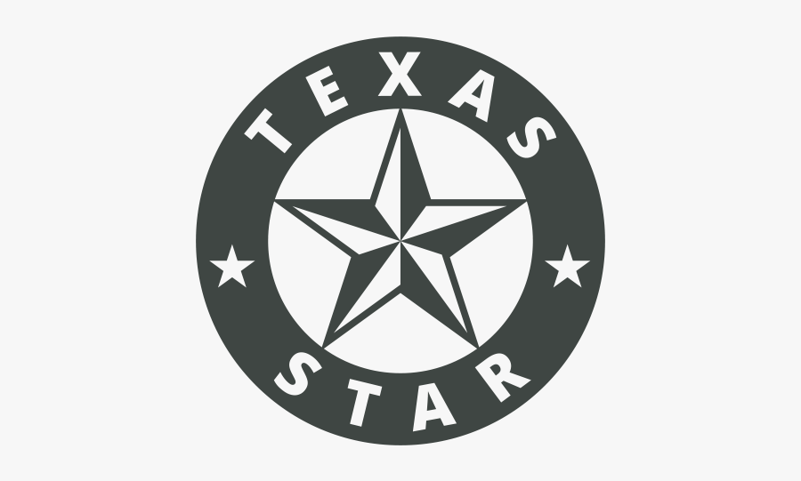 Texas Star Icon - Town Of Ponder, Transparent Clipart