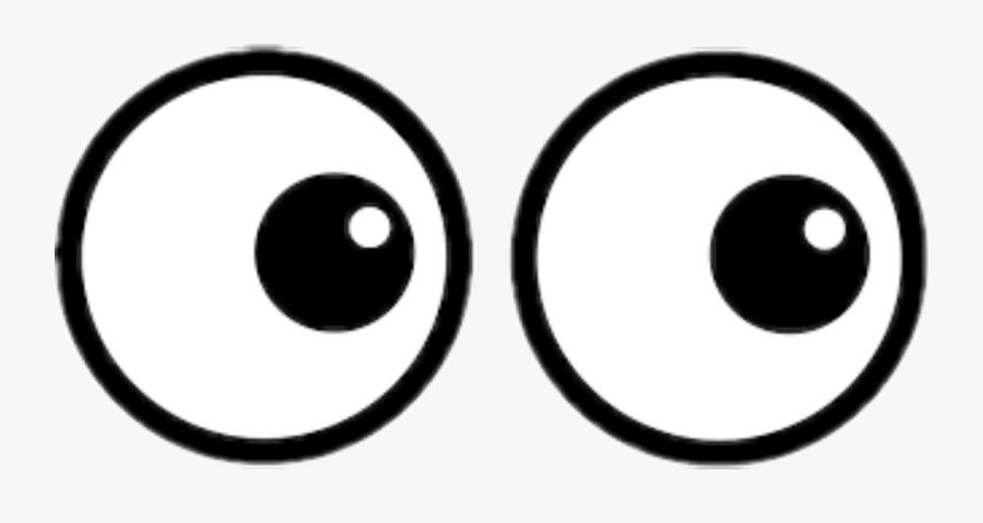 #eye #eyes #eyeballs #looking #peeping - Circle, Transparent Clipart