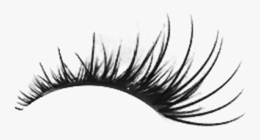 Free Download Pink Lashes Clipart Eyelash Extensions - Right Lashes Transparent Background, Transparent Clipart