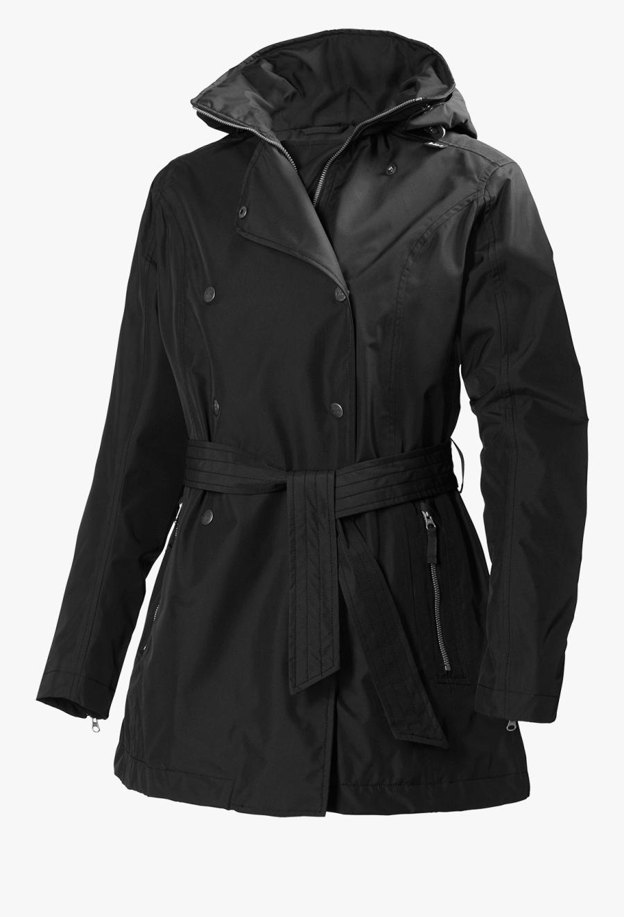Helly Hansen Trench Coat Raincoat Jacket - Helly Hansen Women's Trench Coat, Transparent Clipart