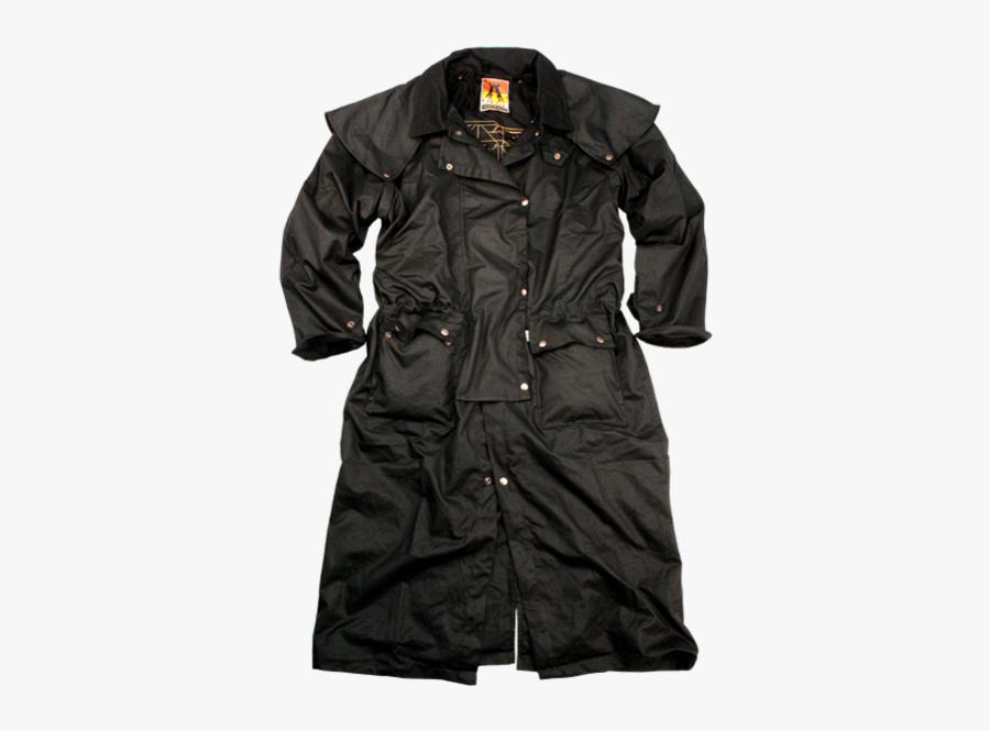L Medium Burro - Trench Coat, Transparent Clipart