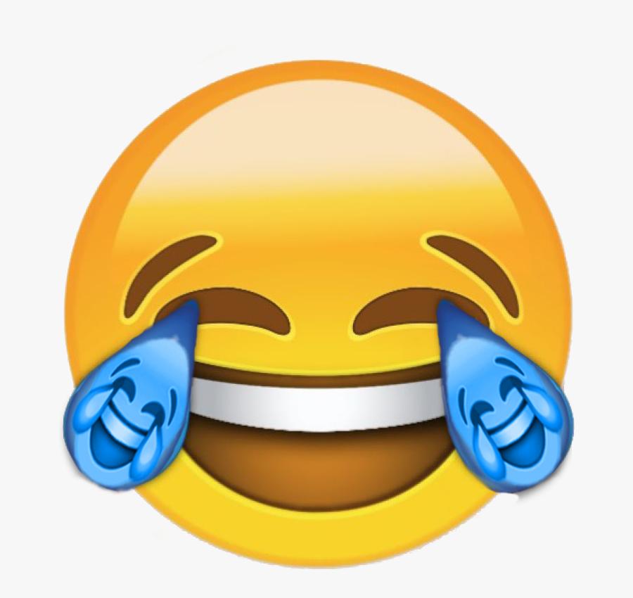 Emoticon Yellow Smile Smiley Product Icon - Emoji Chorando De Rir, Transparent Clipart