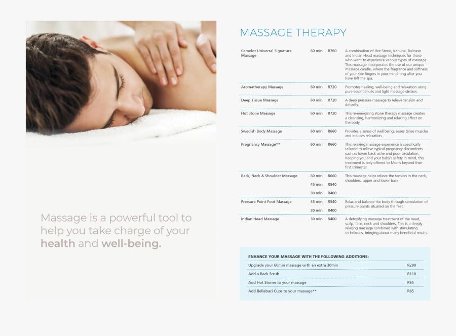 Transparent Going To Sleep Clipart - Neck And Shoulder Massage Menu, Transparent Clipart