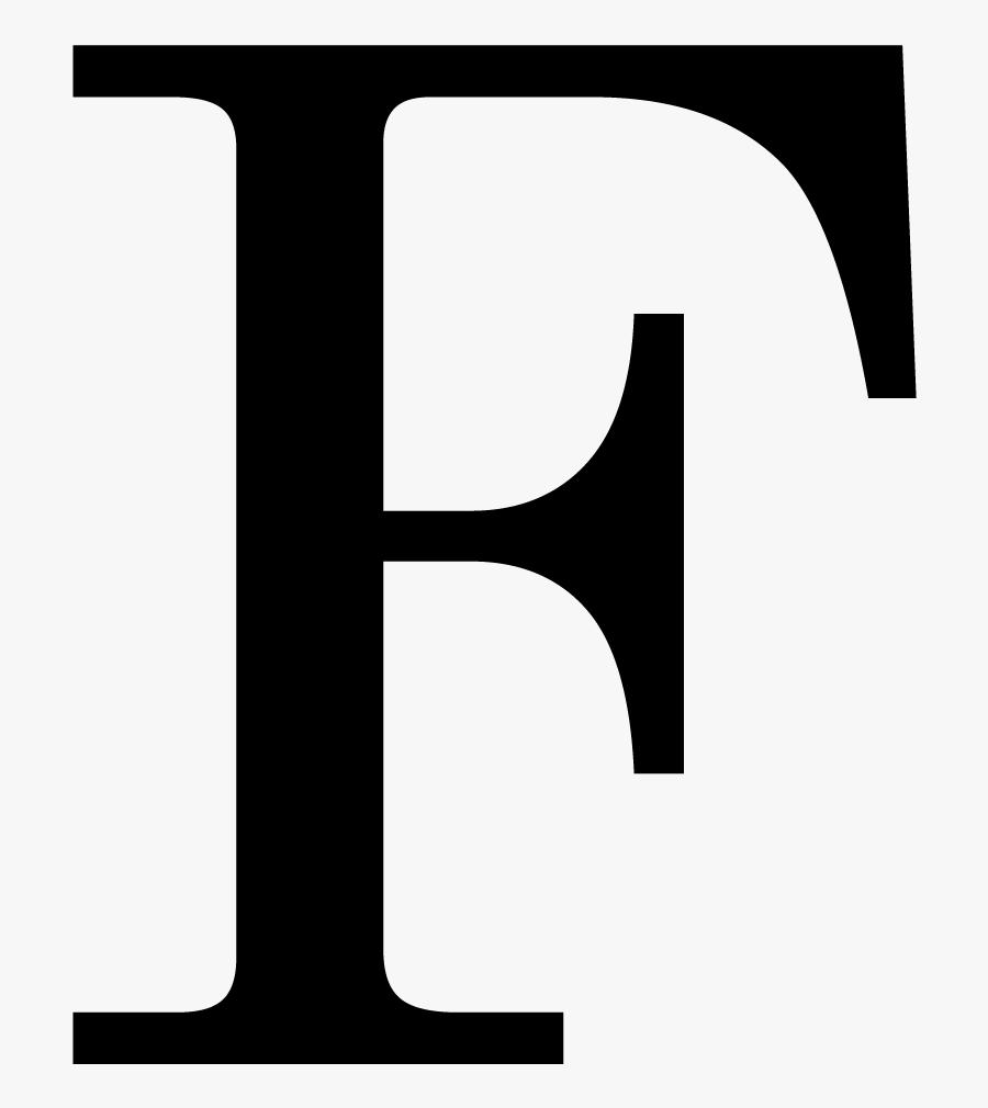 Letter F Png - F Times New Roman Transparent, Transparent Clipart