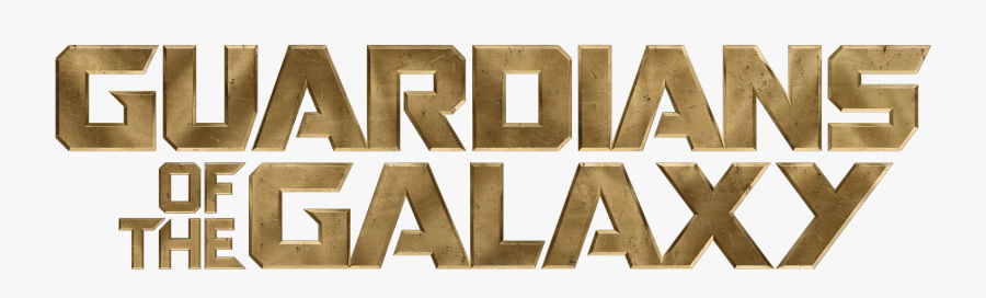 Guardians Of The Logo - Guardians Of The Galaxy Logo Render, Transparent Clipart