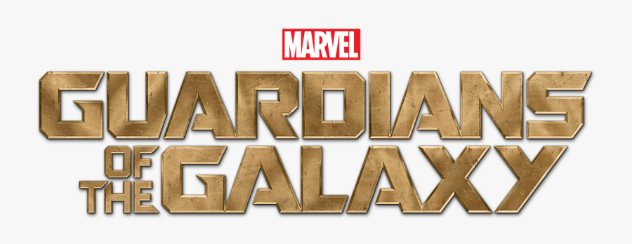 Guardians Of The Galaxy Logo - Guardians Of The Galaxy Title, Transparent Clipart