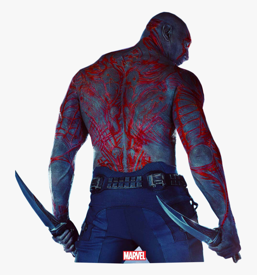 Guardians Of The Galaxy Vol - Guardians Of The Galaxy Drax Poster, Transparent Clipart