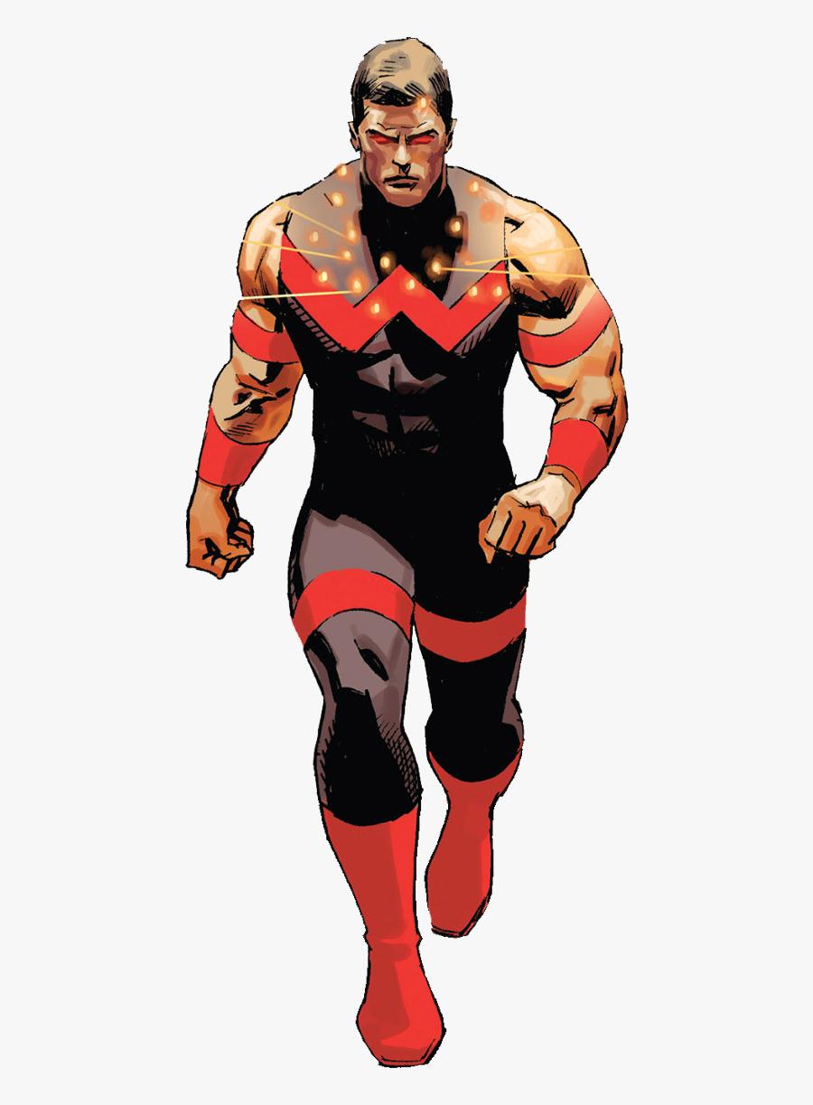 Clip Art Wonder Man Marvel Comics - Marvel Wonder Man 2019, Transparent Clipart