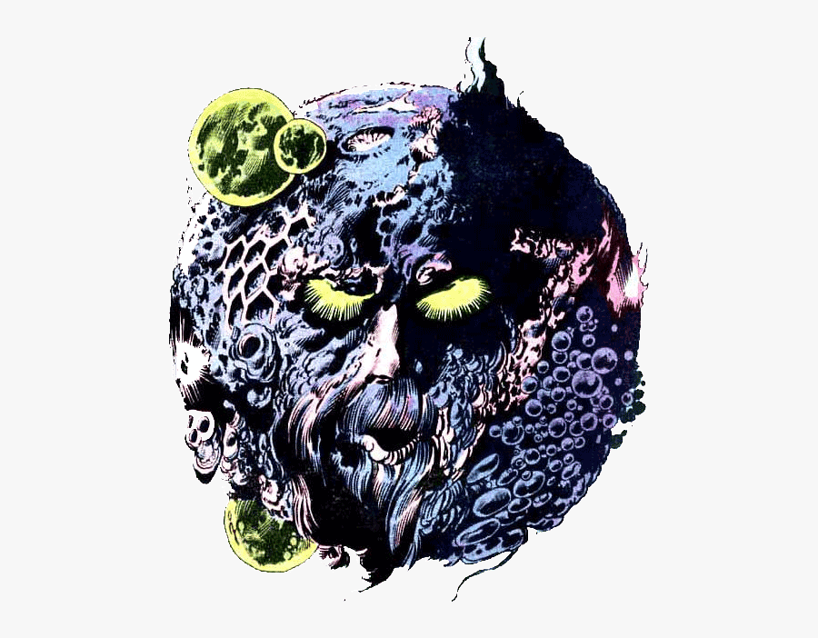 Ego - Star Lord's Father Ego, Transparent Clipart