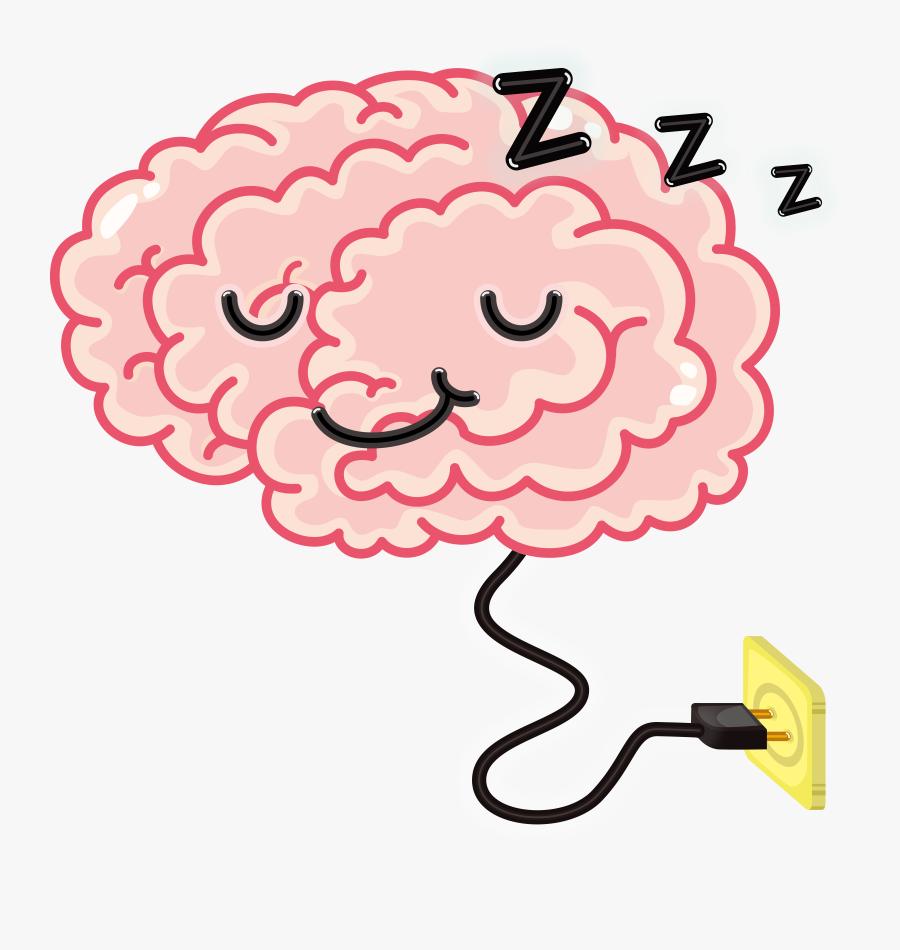 Sleeping Brain Clipart, Transparent Clipart