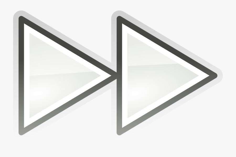 Fast Forward Symbol Transparent Background, Transparent Clipart