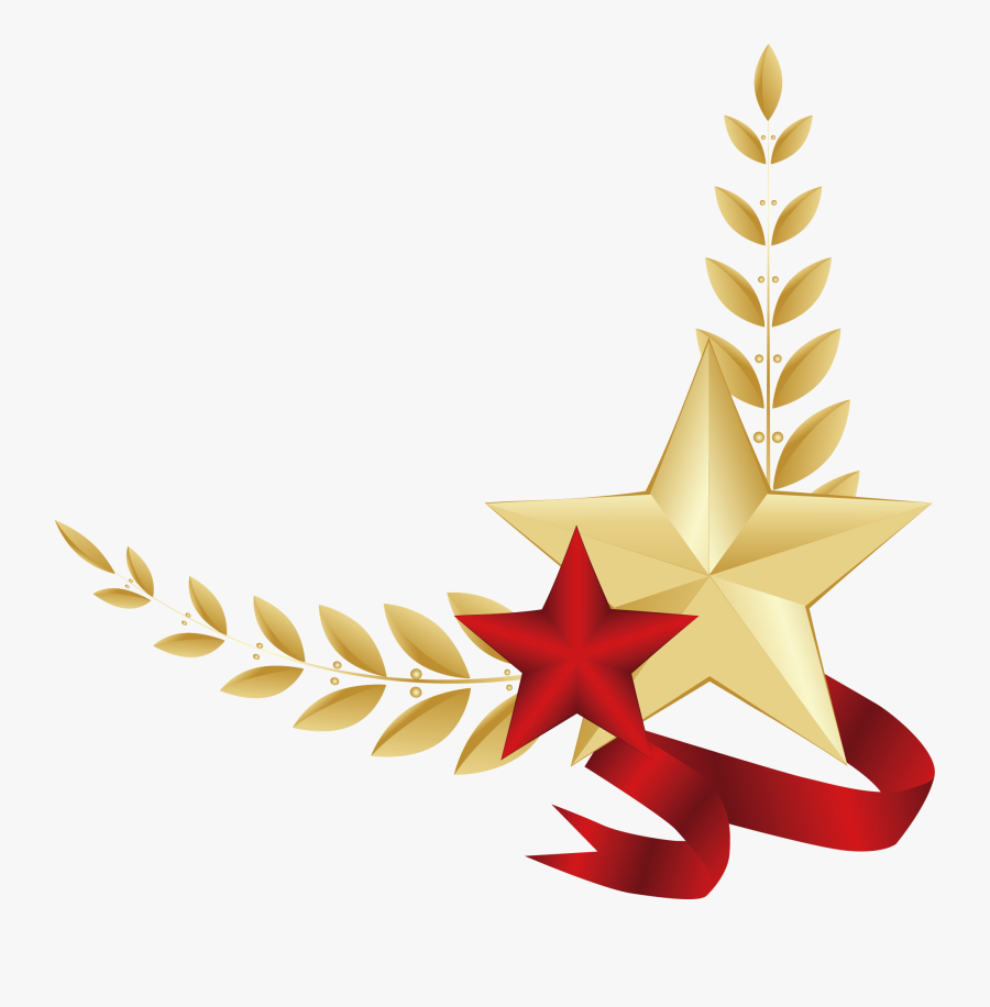 Star Of Fatherland Five-pointed Defender The Day Clipart - Поздравление Главы Города С 23 Февраля, Transparent Clipart