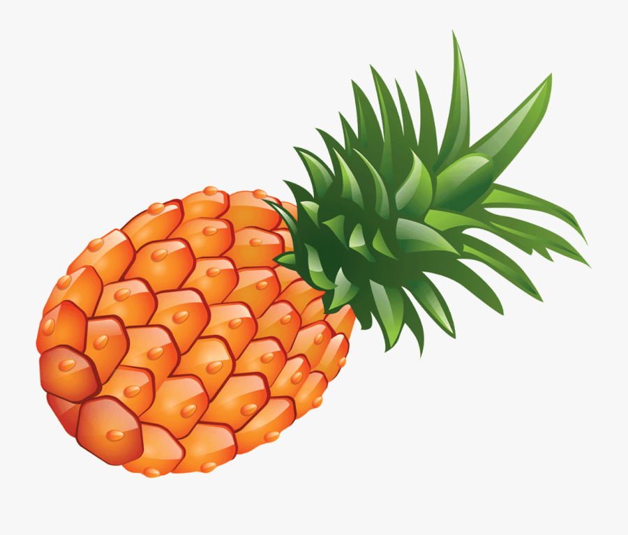 Pineapple Clip Art Openclipart Fruit Free Content - Pineapple Transparent Background Fruit Clipart, Transparent Clipart