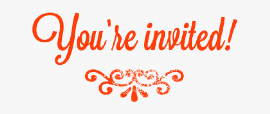 Your Invited Png 3 » Png Image - You Are Invited Transparent, Transparent Clipart