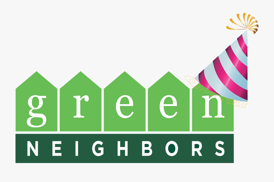 Gn Logo With Hate - Clark County Green Neighbors Logo, Transparent Clipart