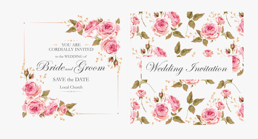 Invitation Transparent Background - Wedding Invitation Transparent Background, Transparent Clipart