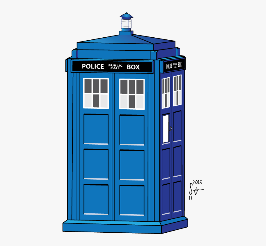 Doctor Who Police Box Drawing, Transparent Clipart