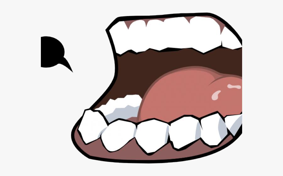 Cartoon Lips Clipart, Transparent Clipart