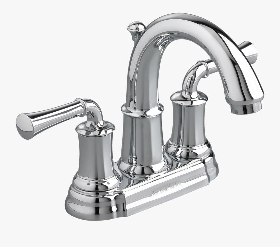 Portsmouth 2 Handle 4 Inch Centerset High Arc Bathroom - Bathroom Sink Faucet American Standard, Transparent Clipart