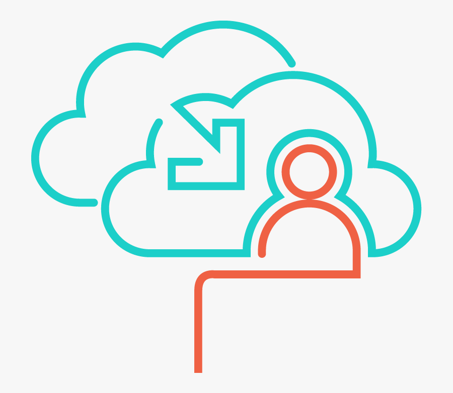 Icon Line Color Cloud Advisory And Migration Solutions2 - Portable Network Graphics, Transparent Clipart
