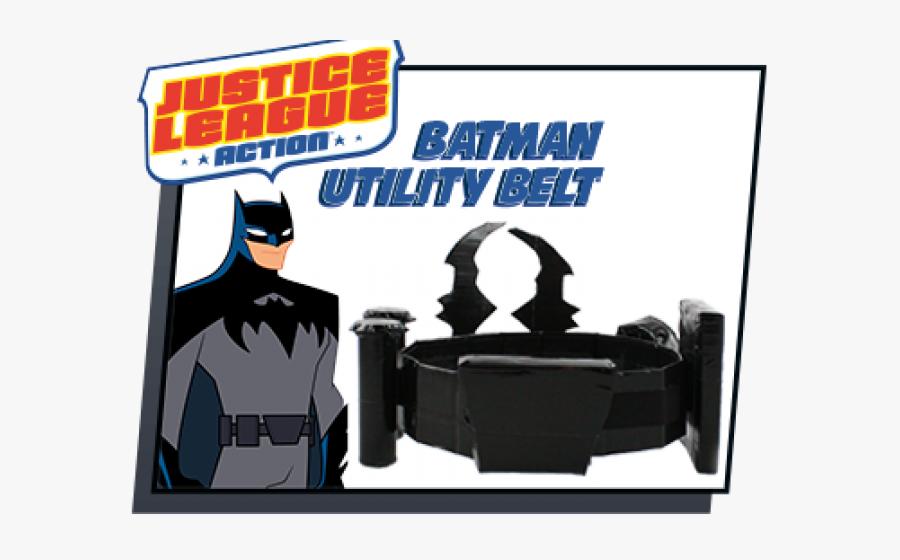 Aquaman Clipart Justice League Unlimited - Batman Belt Justice League Action, Transparent Clipart