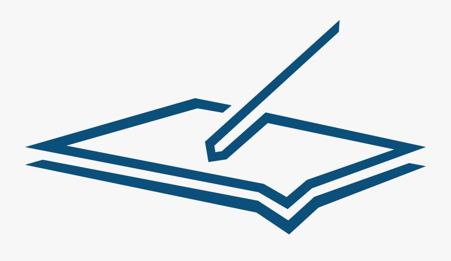 Transparent Paper Icon Png - Pen To Paper Logo, Transparent Clipart