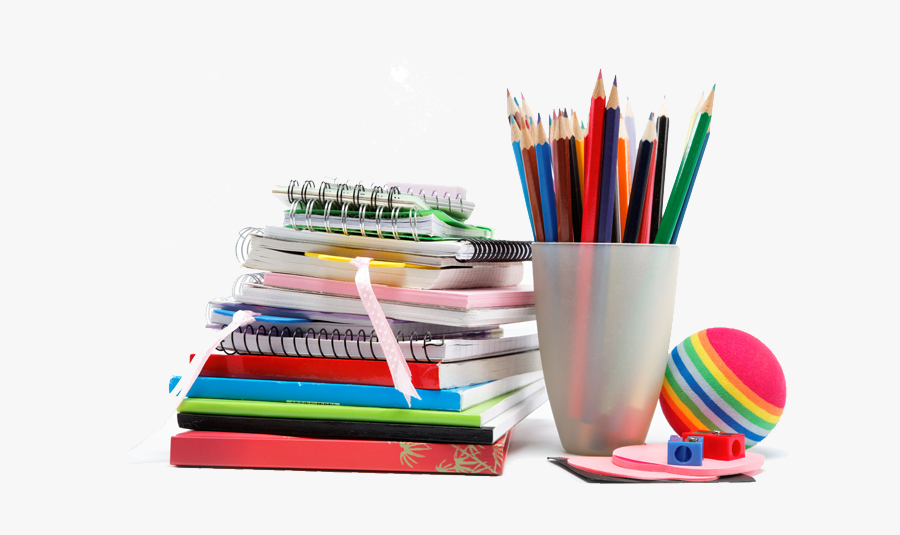 Paper Pens Pencil Notebook - School Note Book Image Png, Transparent Clipart