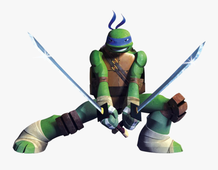 Transparent Ninja Turtles Clipart - Ninja Turtles Leonardo 2012, Transparent Clipart