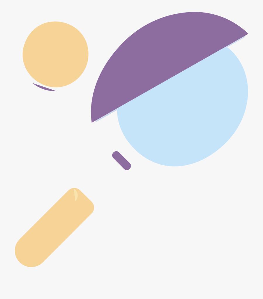 Tennis Racquet Icon - Circle, Transparent Clipart