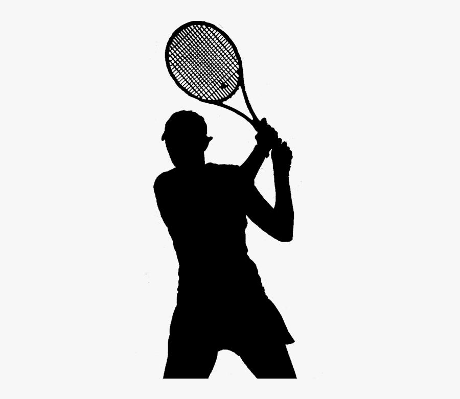 Shoulder Megaphone Line Silhouette - Soft Tennis, Transparent Clipart
