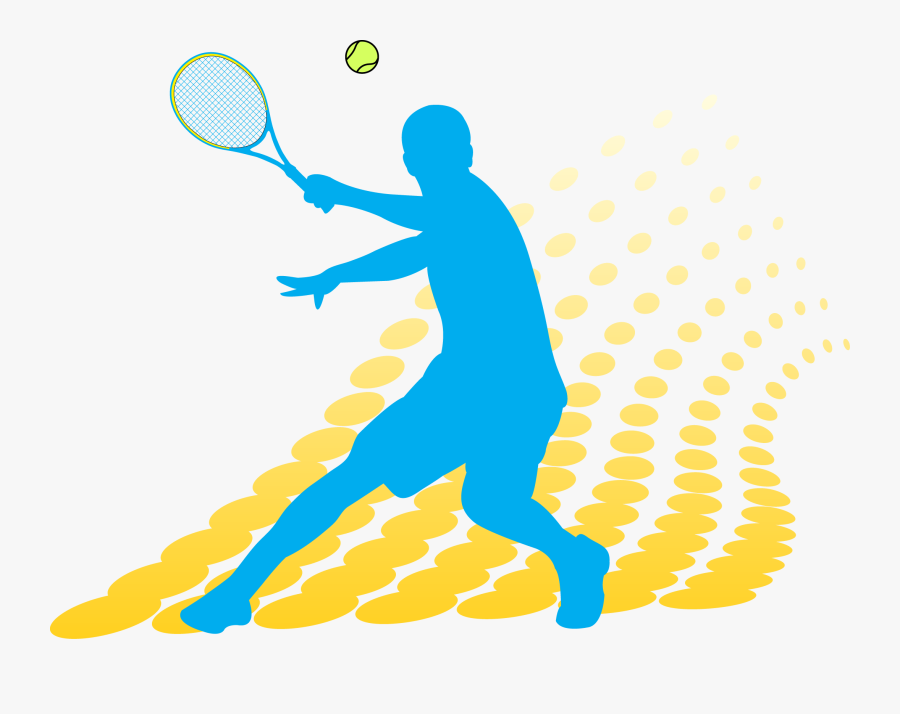 "Tennis Clipart Men""s - Lawn Tennis Clip Art, Transparent Clipart"