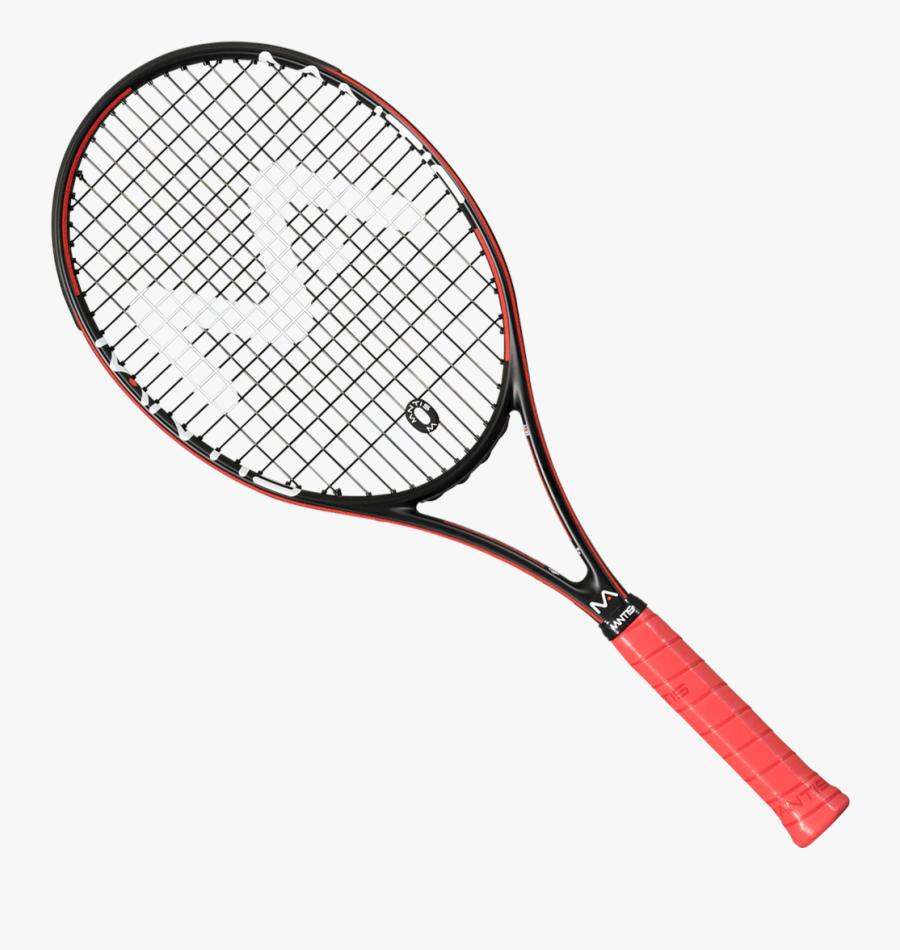Tennis Racket Picture - Tennis Racket Pink, Transparent Clipart