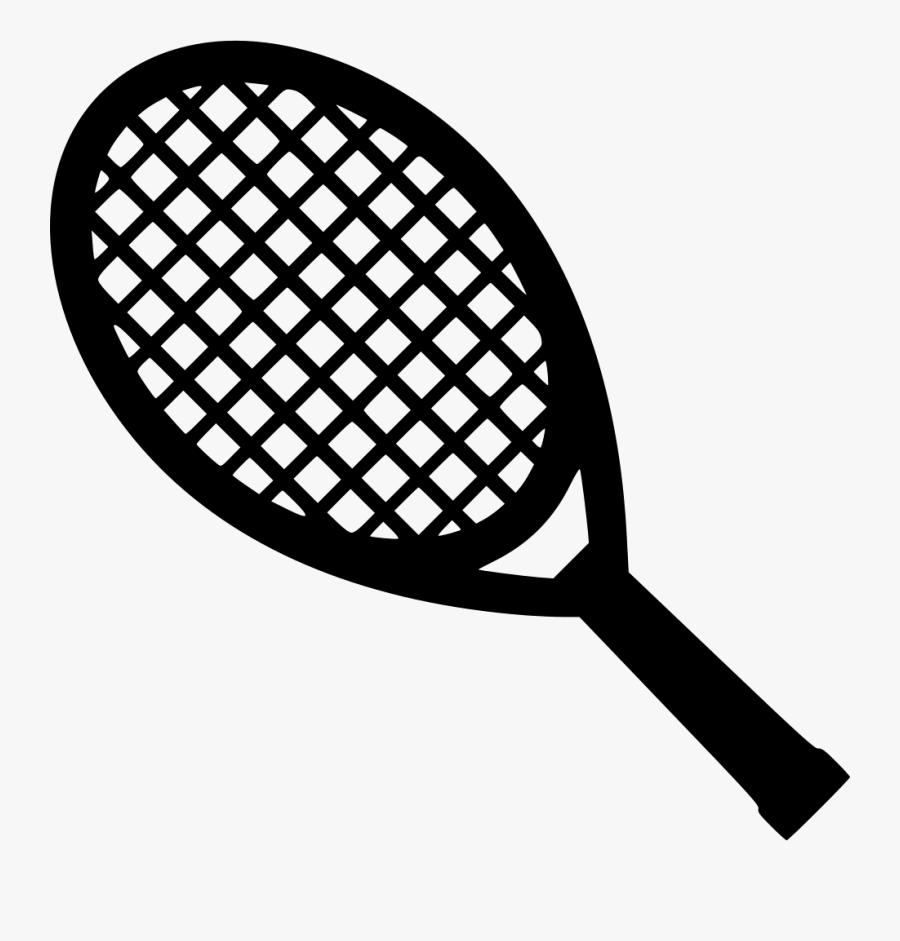 Tennis Racket - Tennis Racket Svg Free, Transparent Clipart