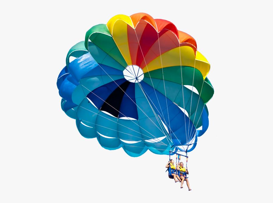 Transparent Paragliding Png - Transparent Background Paragliding Clipart, Transparent Clipart