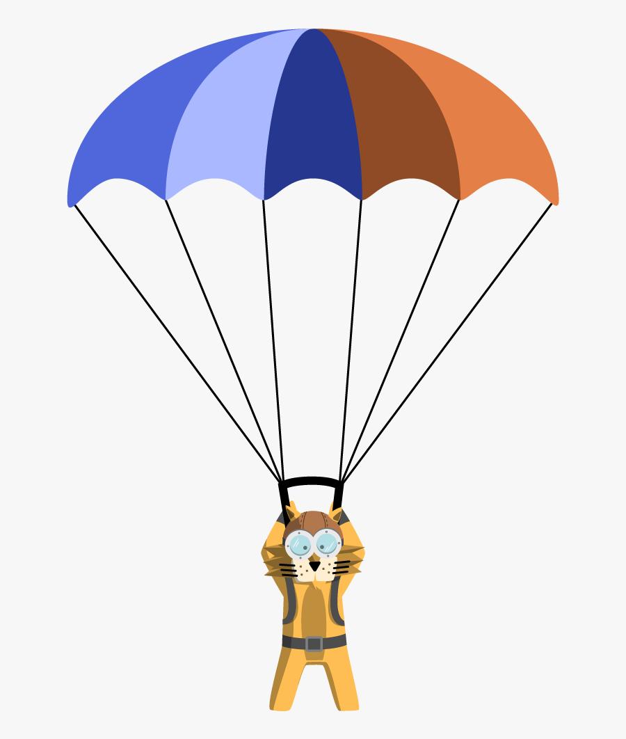 Parachute Game Clipart Www Imgkid Com The Image Kid - Parachute Cartoon Transparent, Transparent Clipart
