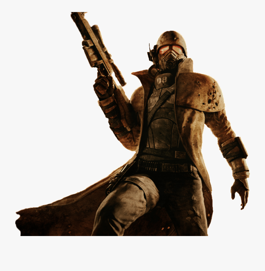 Fallout 4 Character - Fallout New Vegas Render, Transparent Clipart