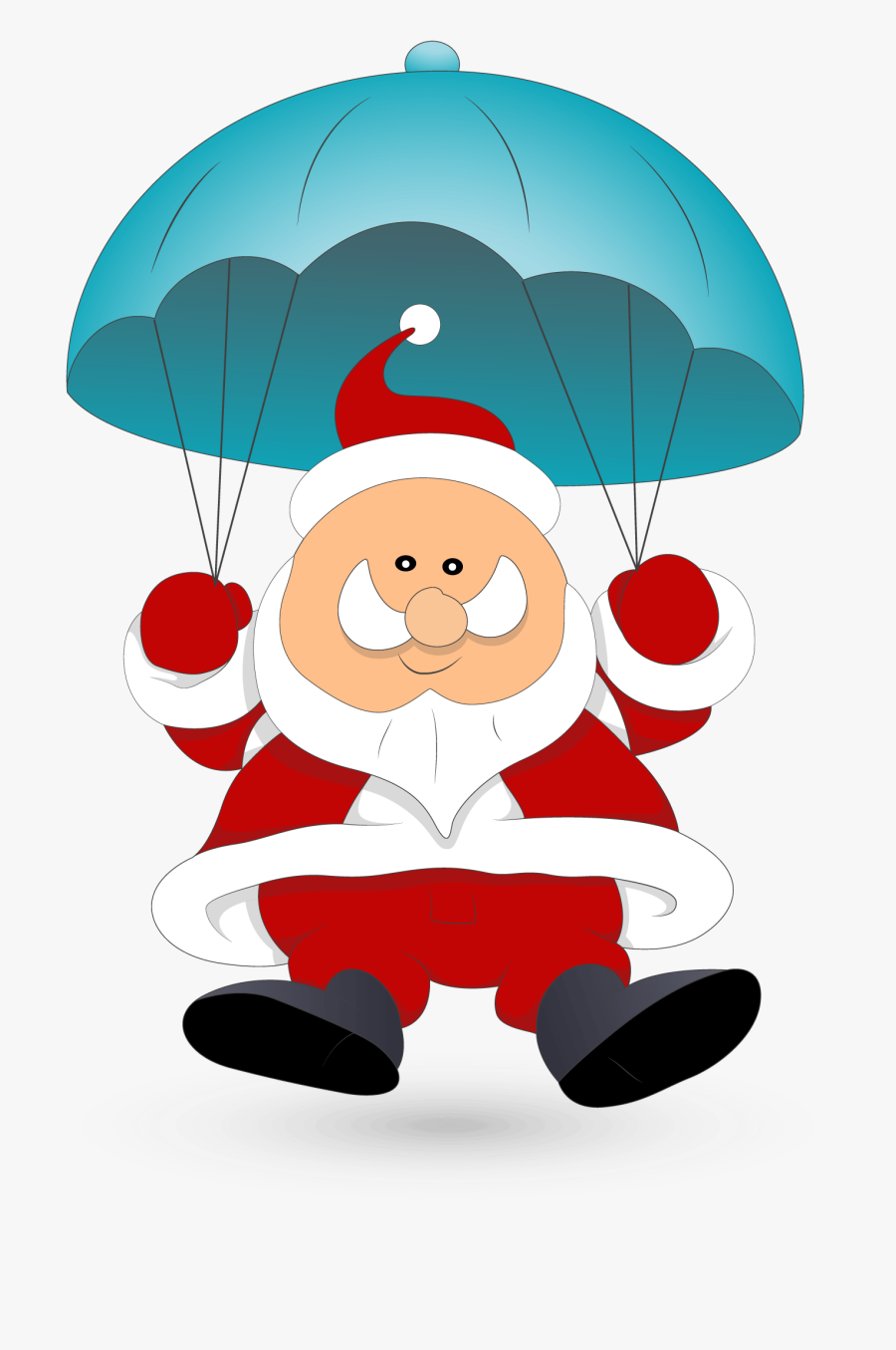 Santa Haydock Commercial Vehicles - Santa Claus Body Clipart, Transparent Clipart