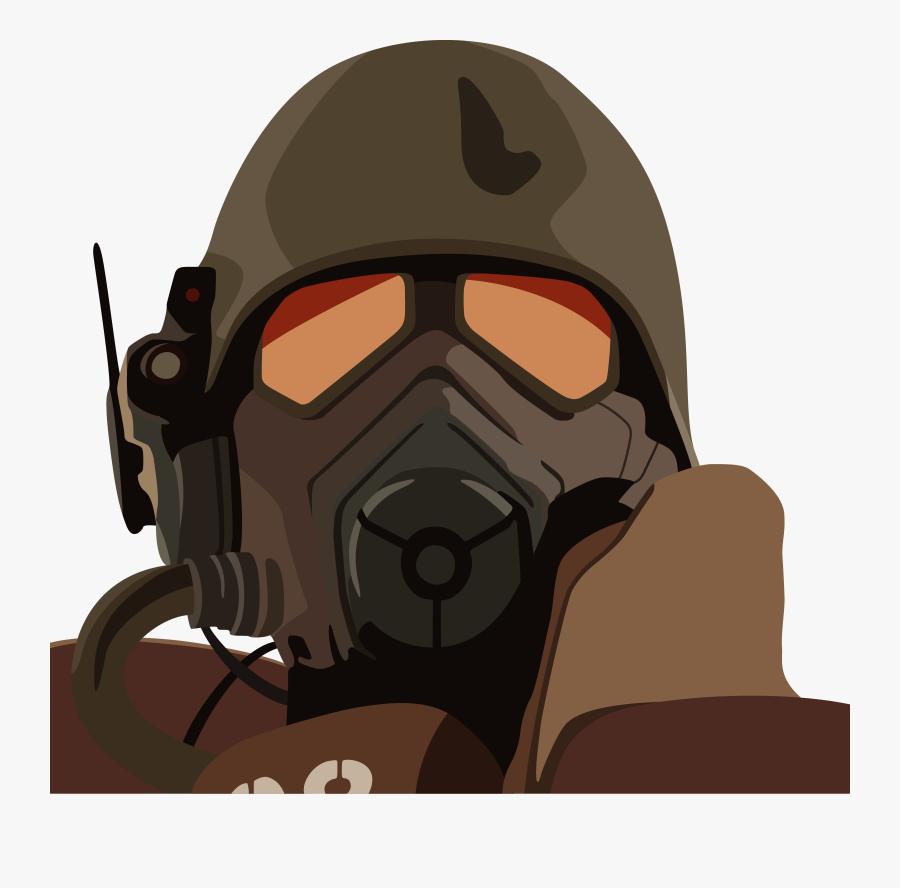 Patient Clipart Oxygen Mask - Fallout New Vegas Drawings, Transparent Clipart