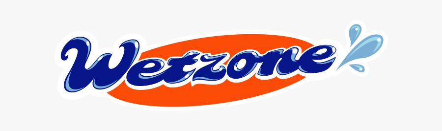 Wet Zone Car Wash Logo, Transparent Clipart