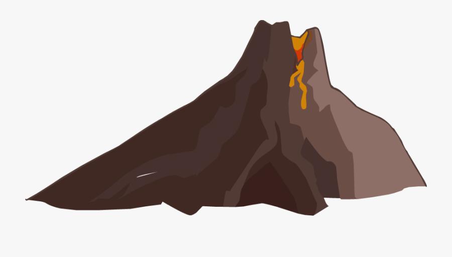Volcano Png File - Transparent Background Volcano Transparent, Transparent Clipart