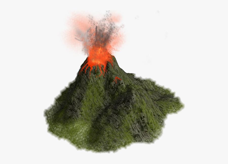 Volcano - Volcano Png, Transparent Clipart