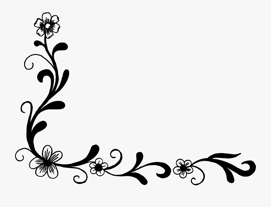 Clipart Resolution 1024*736 - Png Format Corner Designs Png, Transparent Clipart
