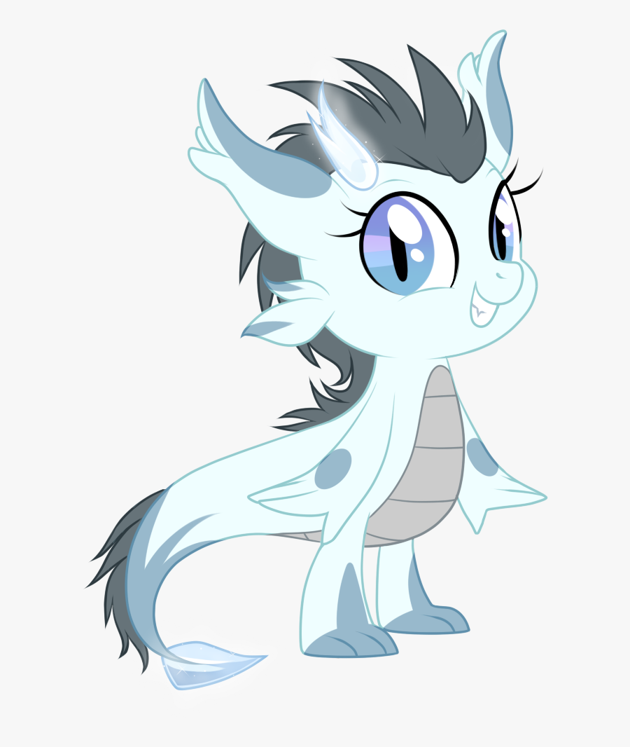 Sassy Dragon By Heilos On Clipart Library - Mythical Cute Anime Creature, Transparent Clipart