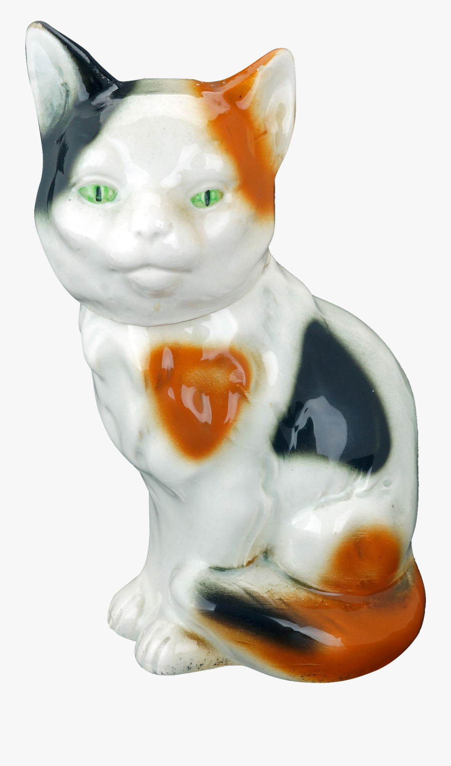 Transparent Calico Cat Clipart - Domestic Short-haired Cat, Transparent Clipart